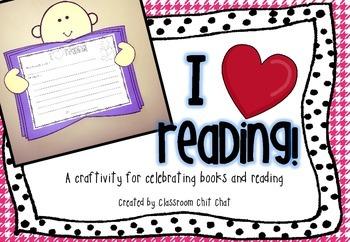 I {heart} Reading! A Reading Craft