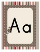 Sock Monkey Classroom Decor - Alphabet Posters