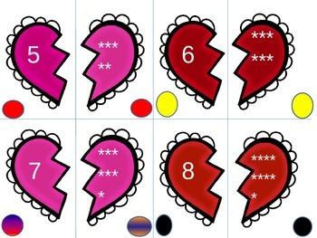 I heart math centers (Valentine's themed math activities)