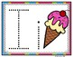 Letter of the Week - I is for Ice Cream Preschool Kindergarten Alphabet Pack