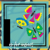 I is for Insects Theme Lesson Plans (one week)