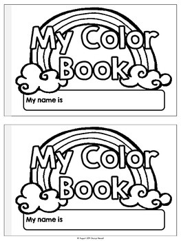 I know Colors! {Posters and booklet}