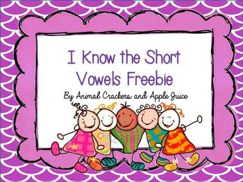 I know Short Vowels Freebie