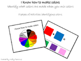 I know how to make colors workbook