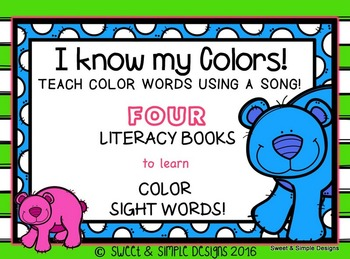 I know my Colors!
