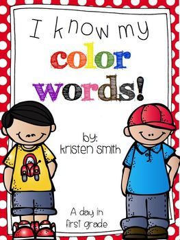 I know my color words!