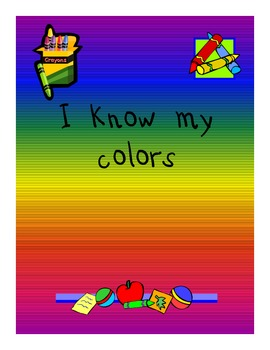 I know my colors (English)