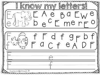 I know my letters!
