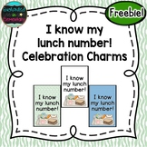 I know my lunch number! Brag Tags {Freebie!}