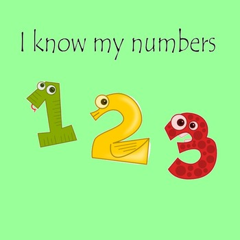 I know my numbers