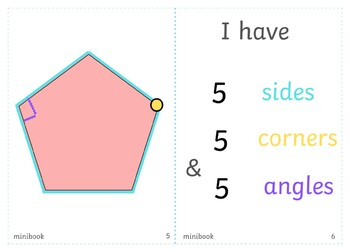 I know my polygons mini-book