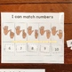 I know numbers 1-10 morning work binder fun math activity preK KG