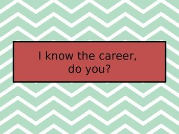 I know the Career, do you?