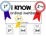 ORDINAL NUMBERS: 1st, 2nd, 3rd, Adapted Book Special Educa