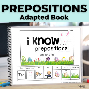 I know...Prepositions Where Is The Easter Bunny Hiding His Eggs Adapted Book