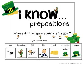 Prepositions: Where Is The Leprechaun Hiding His Gold Adapted Book Speech