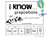 PREPOSITIONS: Over and Under Where Is The Plane Flying? Ad