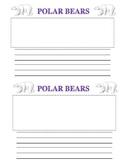 I learned page (Polar Bears)