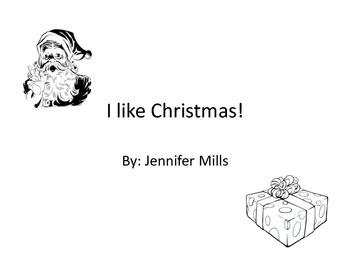 I like Christmas ! Print friendly version