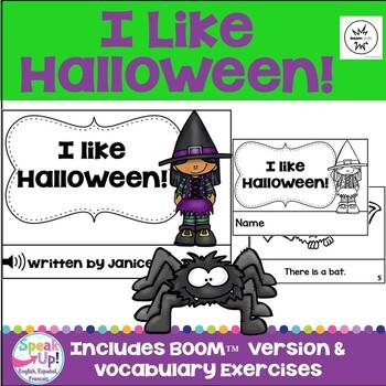 I like Halloween! ~ Halloween Reader & Cut/Paste
