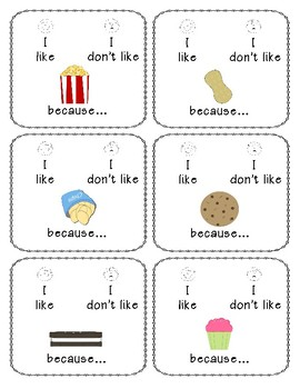 I like, I don't like (food) - Icebreaker Game