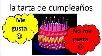 I like/ I don't like in Spanish / Me gusta/n / no me gusta/n