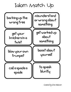 I like Idioms!
