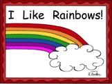 I like Rainbows Sight Word Reader