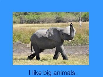 I Like Animals !
