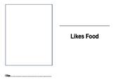 I like food booklet