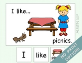 Adapted Book: I Like Picnics