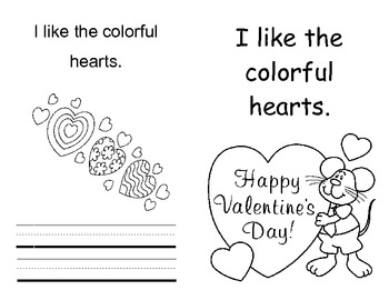 I like the.... Valentine's Day Book