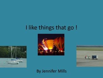Transportation I like book