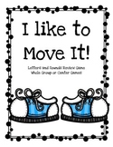 I like to Move It! Letter Recognition Game