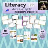 """""""I like/I don't like"""" Preschool Writing Literacy Megapack"""