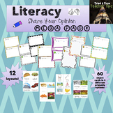 """I like/I don't like"" Preschool Writing Literacy Megapack"