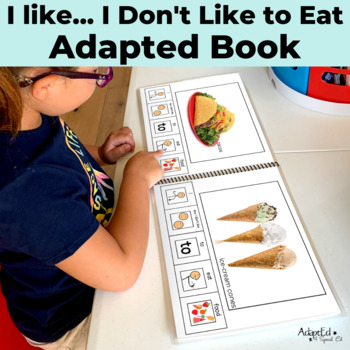 OPINION: I like...I don't like... to Eat...2 Adapted Book