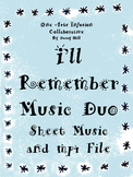 I'll Remember Music Duo (when someone the students love, dies)