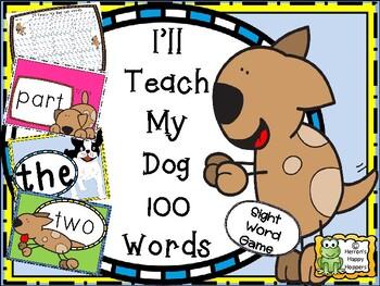 Sight Words - I'll Teach My Dog 100 Words