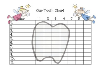 'I lost a tooth!' tracker