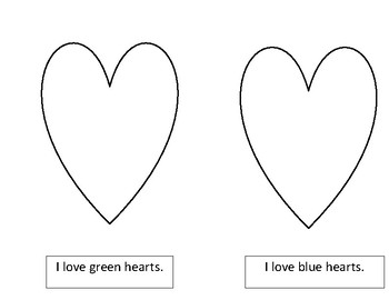 I love Colored Hearts!