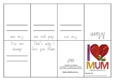 I love Mum by Eric Carl- Activity Page