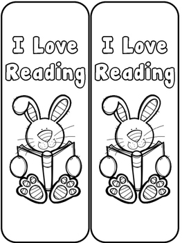 I love Reading Bookmark