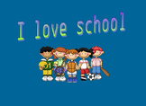 I love school (Early Reader)
