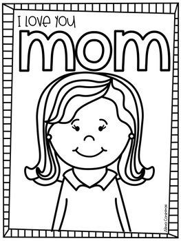 I love you Mom! {Mothers' Day FREEBIE in English and Spanish}