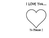 I love you to Pieces Card .. Kindergarten