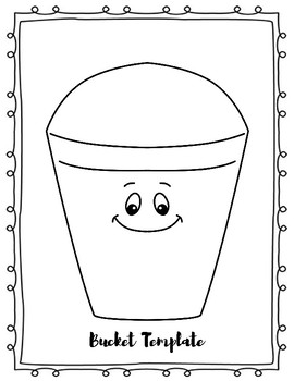 I\'m A Bucket Filler! Bucket Craft Template by Alicia O\'Shea | TpT