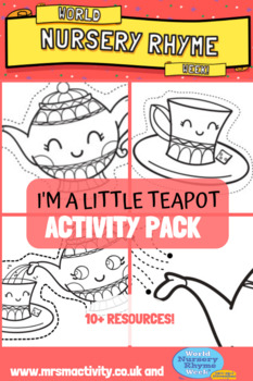 I'm A Little Teapot Activity Resource Pack