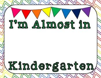 I'm Almost in Kindergarten