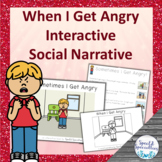 I'm Angry Social Narrative Interactive Book and Emergent R
